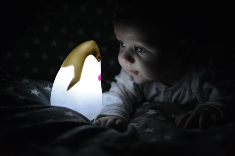 Lampka Pingwinek Lampka Świecąca Blog Dziecięcy (1)