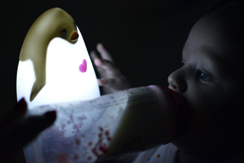 Lampka Pingwinek Lampka Świecąca Blog Dziecięcy (5)