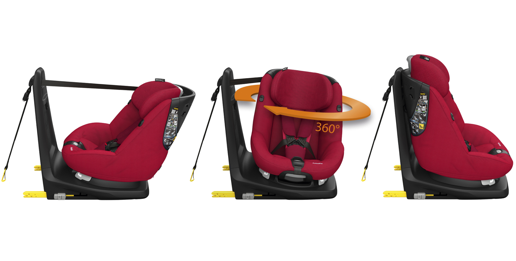 bebeconfort carseat toddlercarseat axissfix 2015 red robinred multiview side