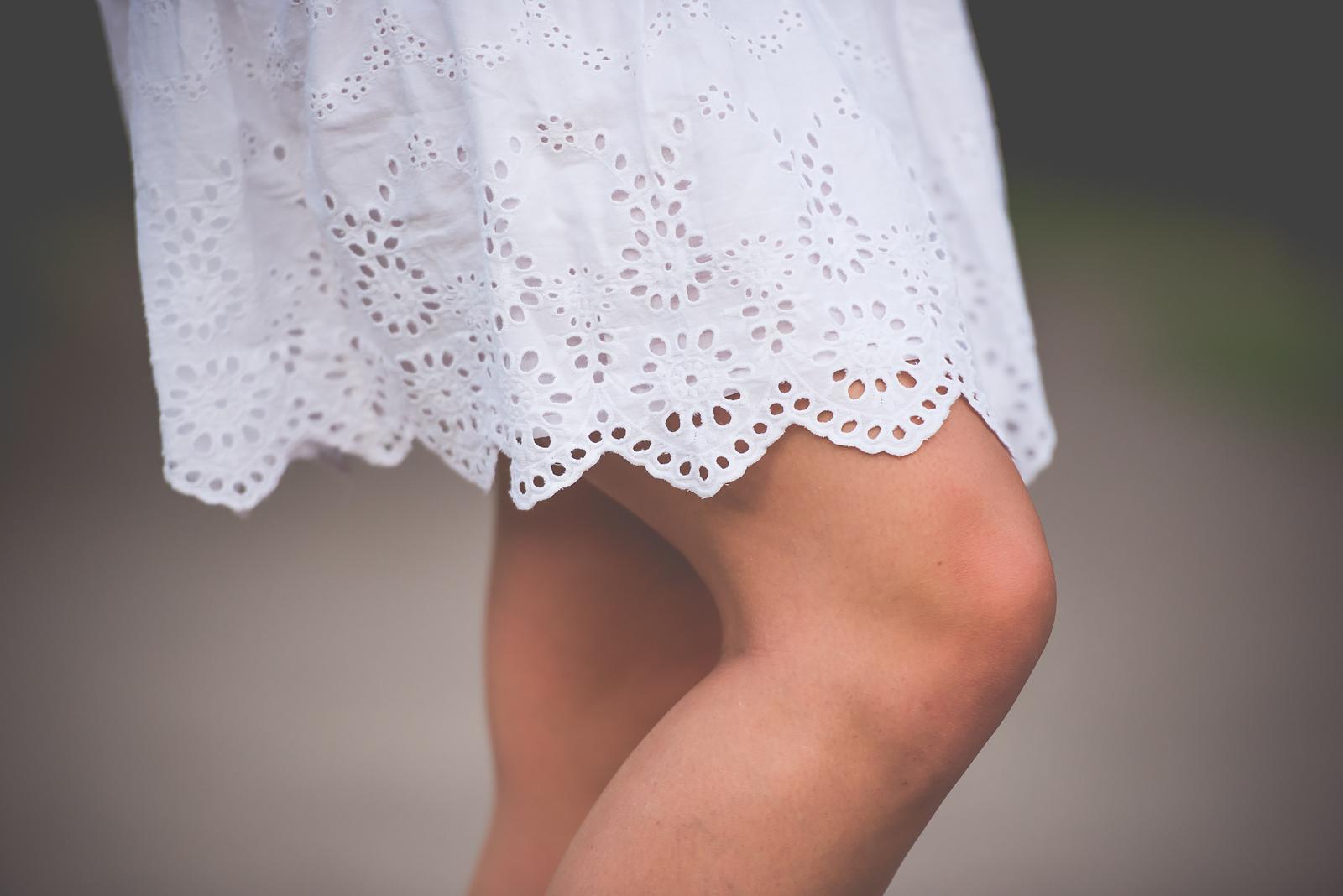 szydelkowa spodnica