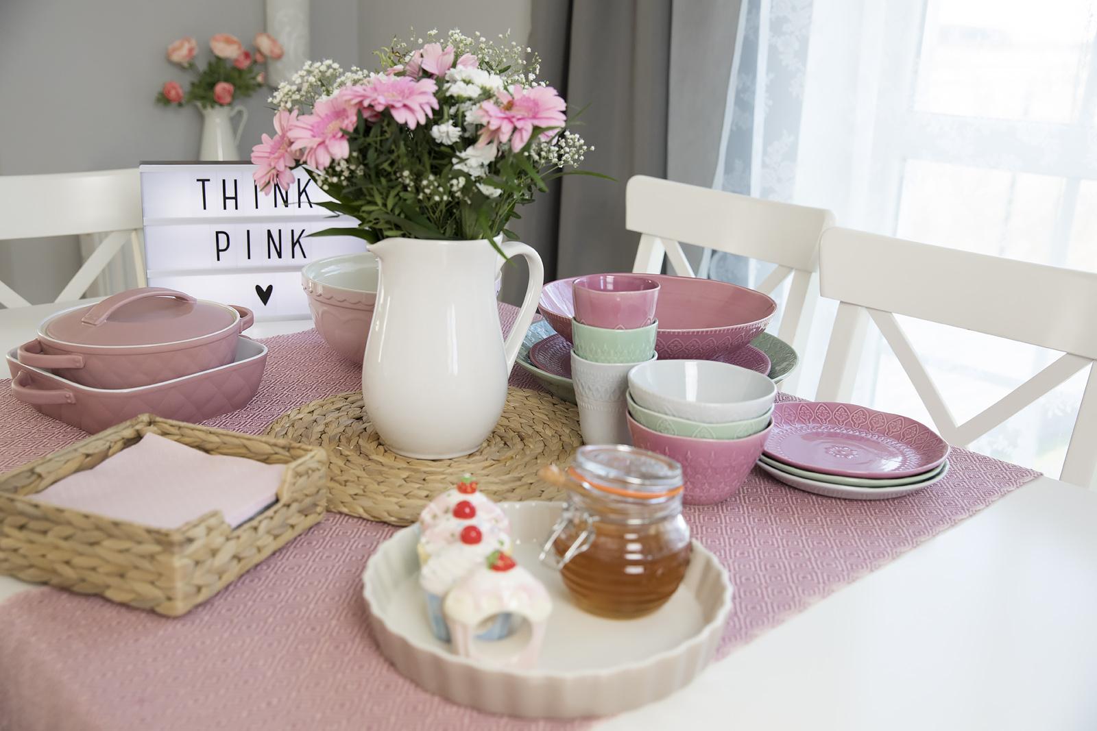 Różowe Nowości Do Naszej Kuchni I Jadalni